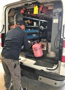 Finalizing Truck Inspection
