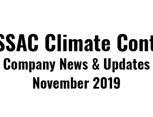 RESSAC News: Holidays & New Units – November 2019