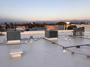 Phase 2_Roof Sweep HVAC Survey in Newport Beach CA