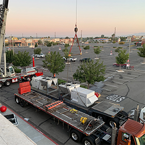 RESSAC Climate Control_HVAC Crane Lift