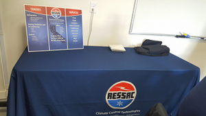 The new RESSAC Climate Control booth display. See you at the next conference!